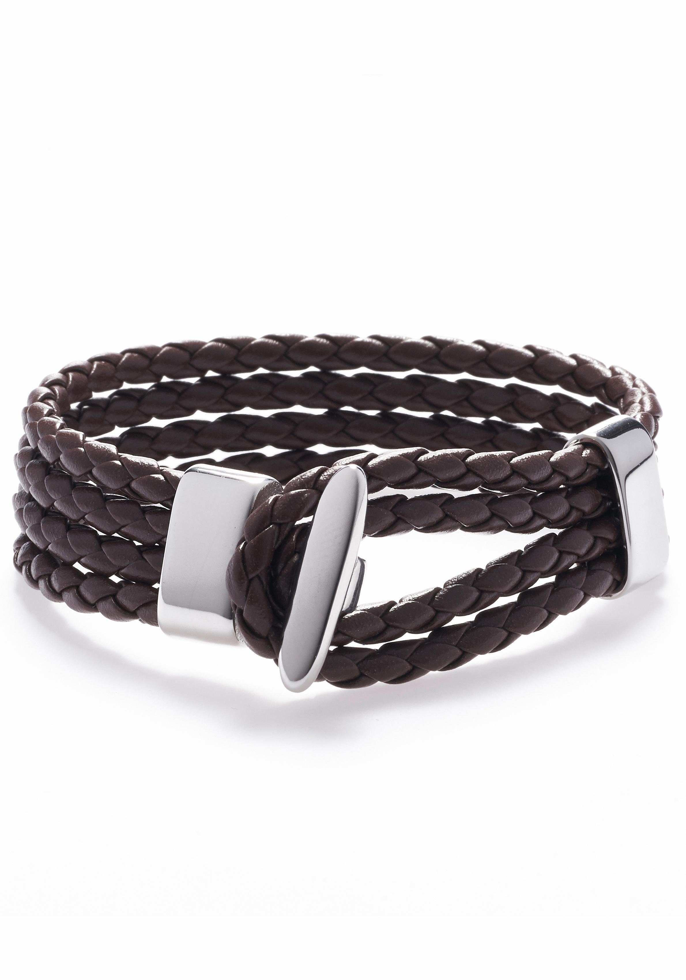 ROYAL EGO Armband »Brown silver, 1289«