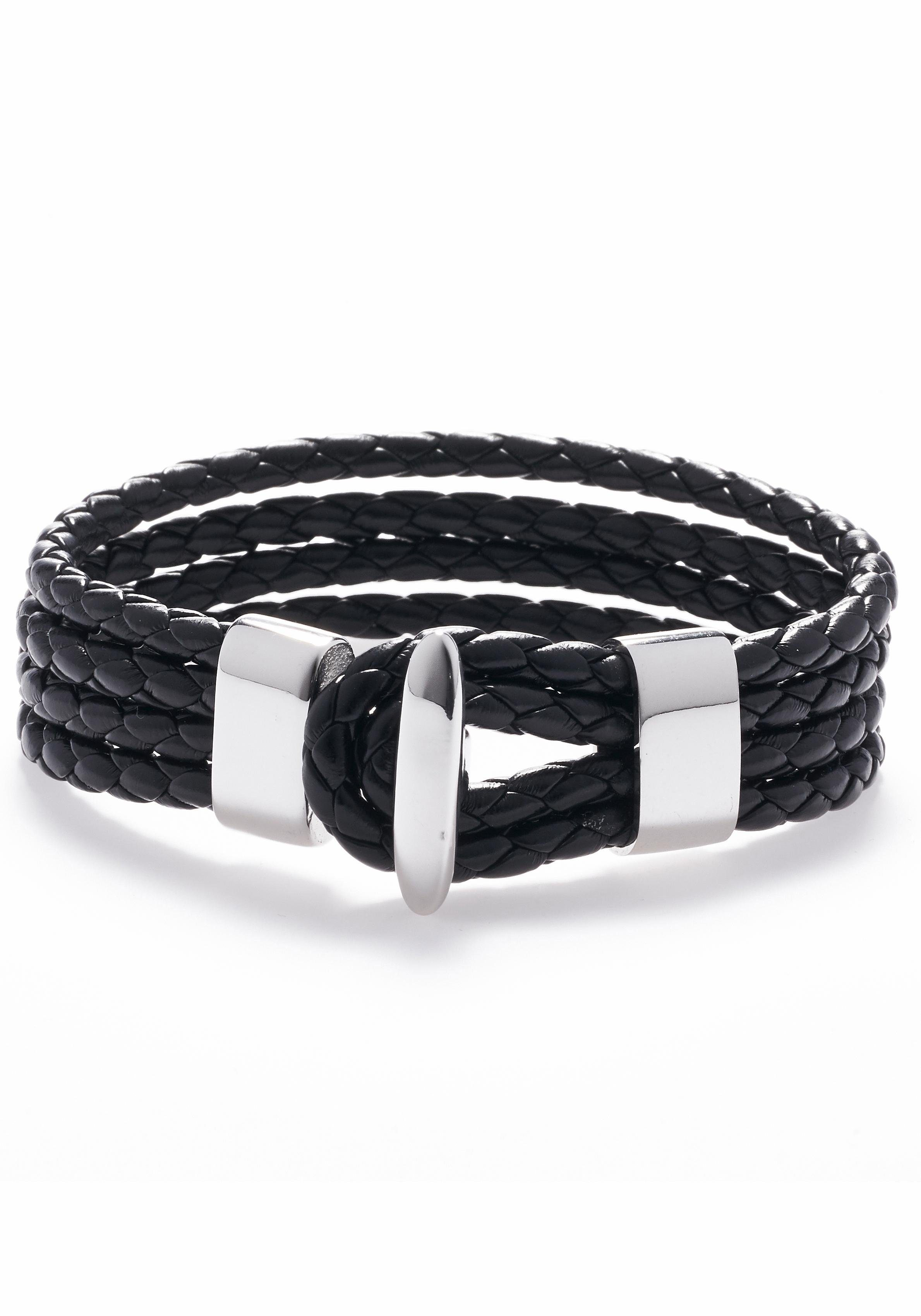 ROYAL EGO Armband »Black silver, 1288«