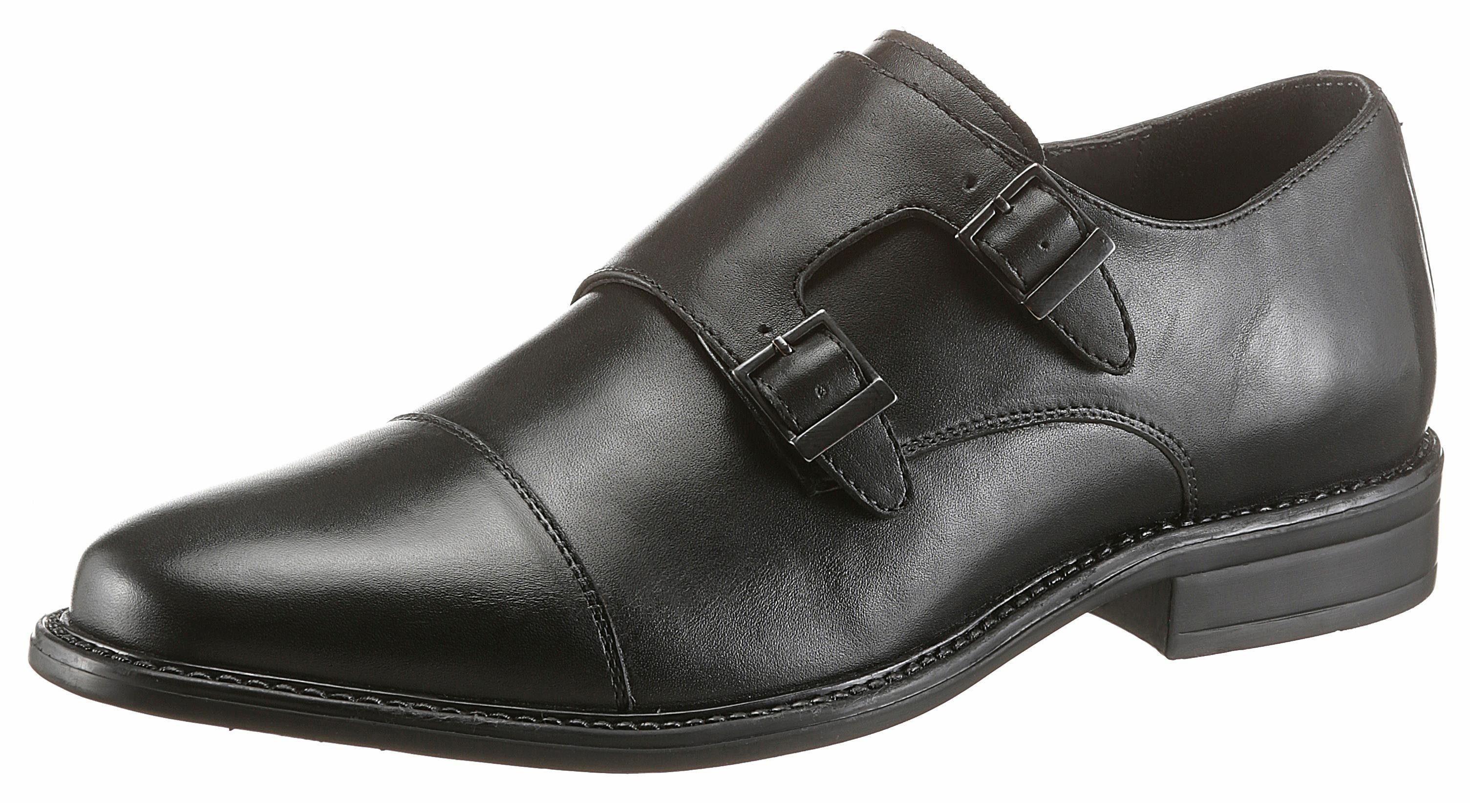 PETROLIO Slipper, mit 2 Schnallen online kaufen  schwarz