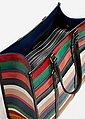 MANGO Shopper-Tasche mit Streifen, Bild 4