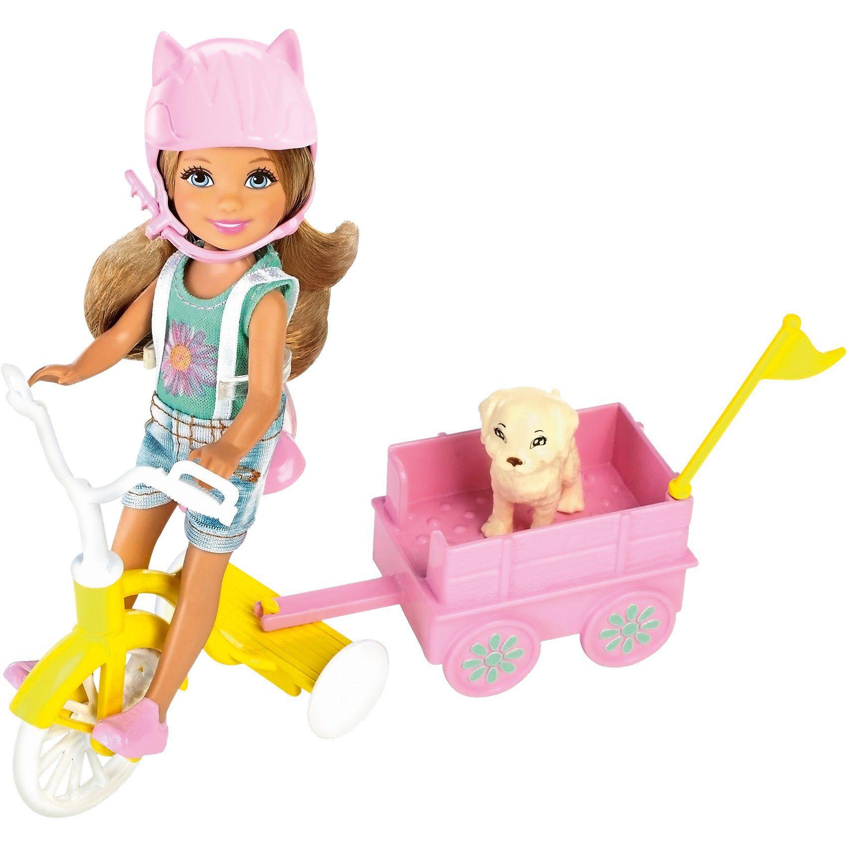 Mattel® Barbie Chelsea & Dreirad