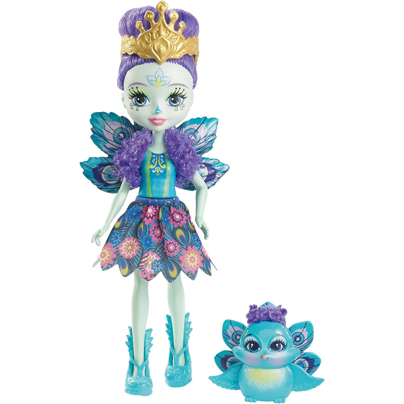 Mattel® Enchantimals Pfauenmädchen Patter Peacock