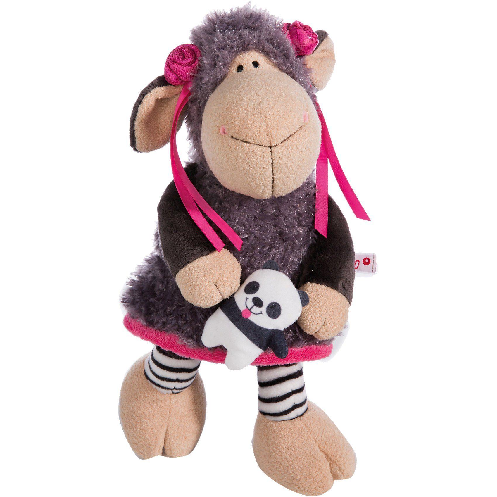 Schaf Jolly Juicy Schlenker mit Panda, 35 cm (40858)