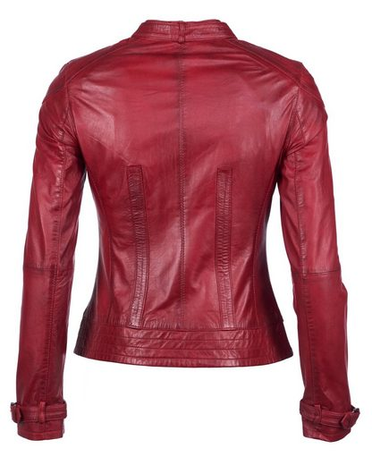 Maze Leather Jacket With Two Breast Pockets Ryana