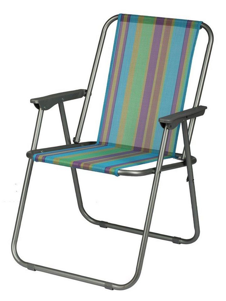 KAWOLA Campingstuhl 4er Set verschiedene Farben | Baumarkt > Camping und Zubehör > Campingmöbel | Grün | KAWOLA