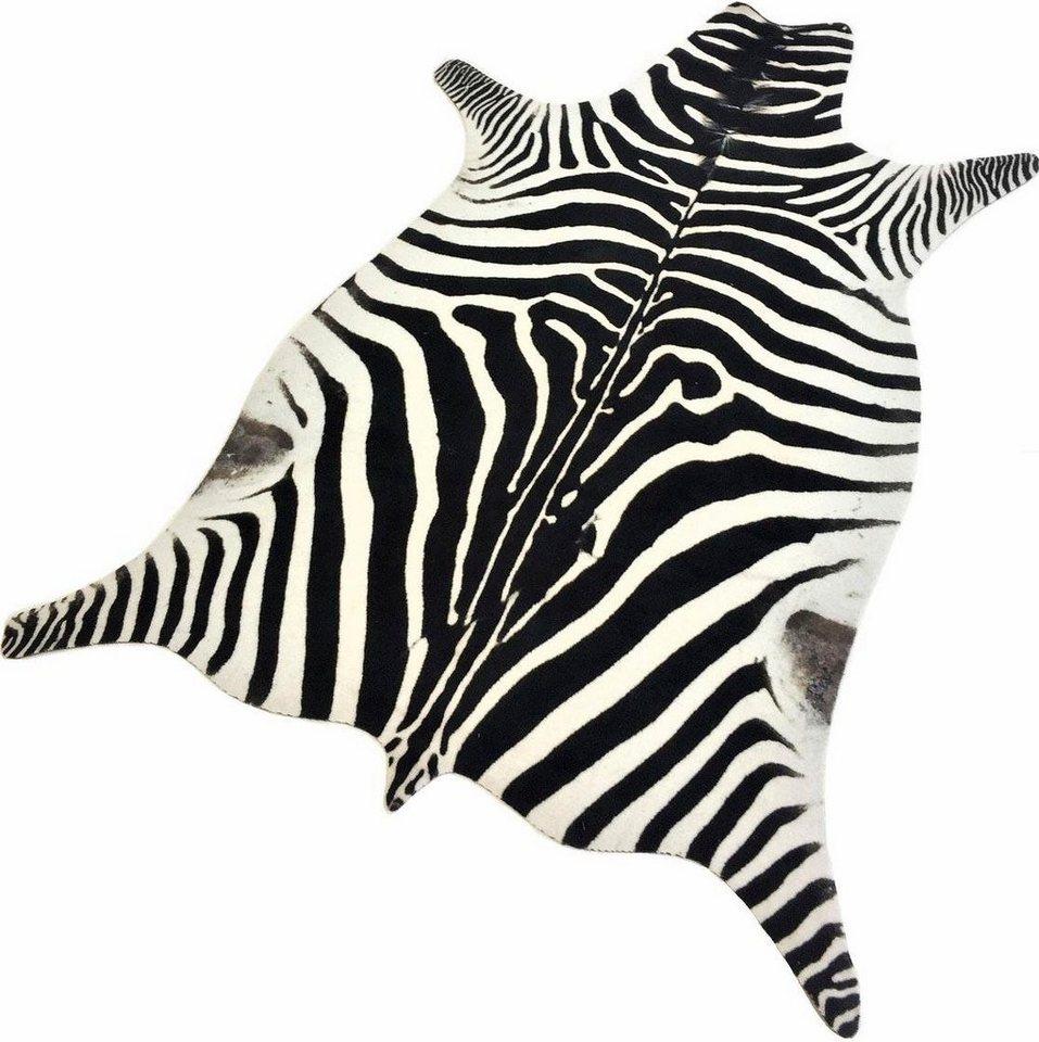 Teppich Zebra Look Living Line Tierfellformig Hohe 7 Mm