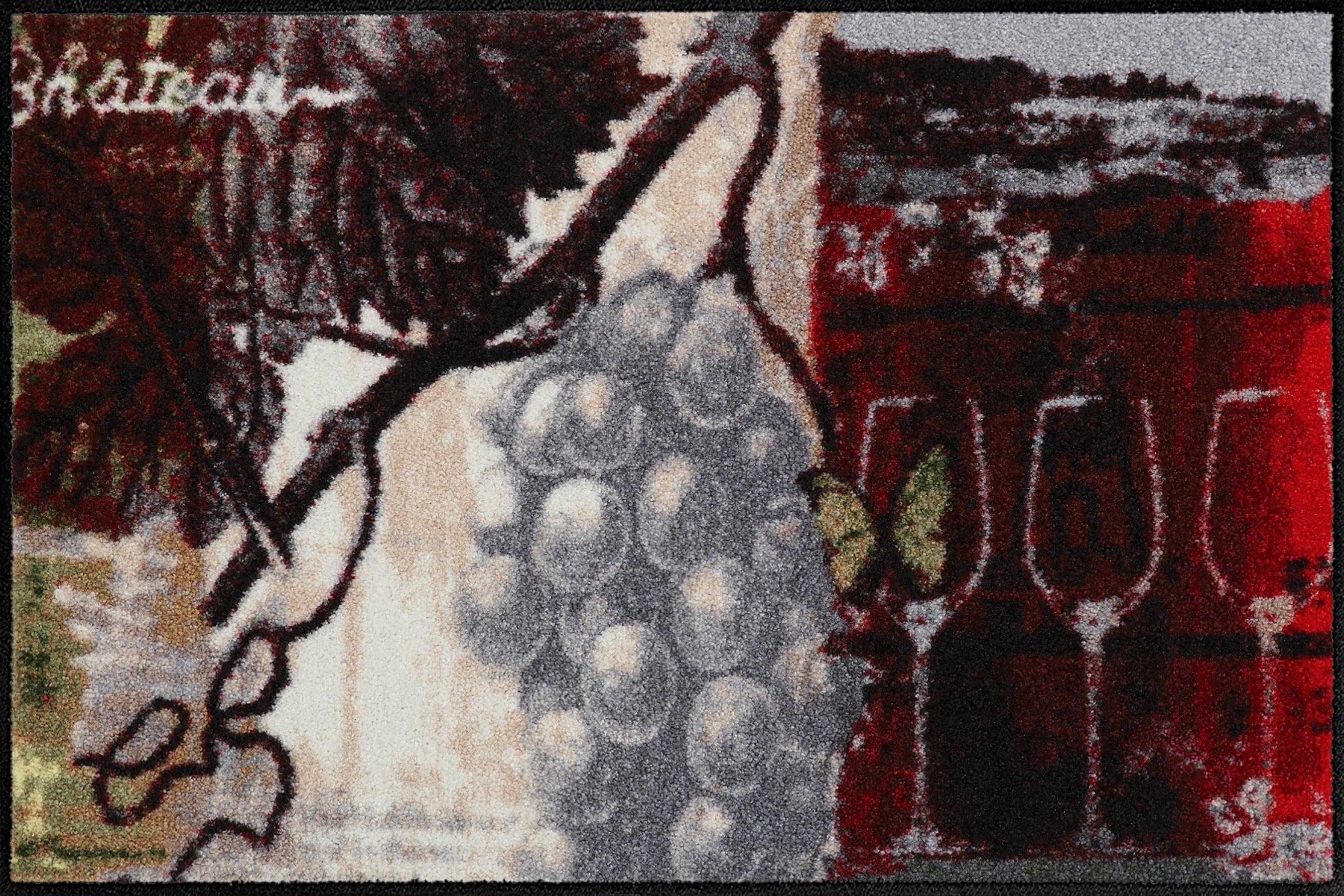 Fußmatte »Chateau Grand vin«, Salonloewe, rechteckig, Höhe 6 mm