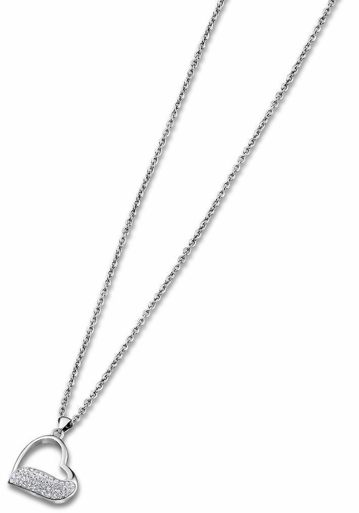 Lotus Style Herzkette »Herz, Rainbow, LS1784-1/1« mit Glassteinen | Schmuck > Halsketten > Herzketten | Lotus Style