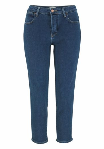 Wrangler Stretch-Jeans, >>Cropped Straight<<