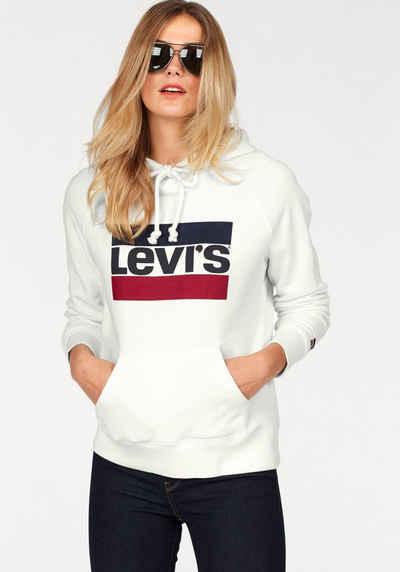 Levi's® Kapuzensweatshirt »Batwing« Logoprint
