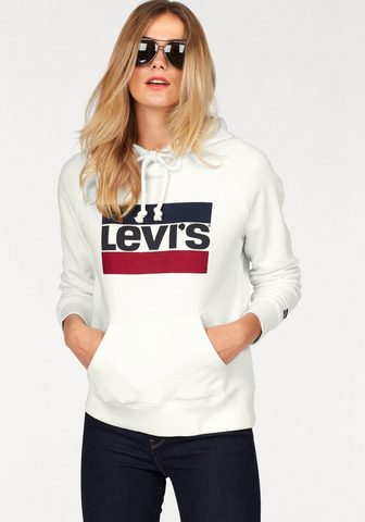 LEVI'S ® Sportinis megztinis su gobtuvu »Batw...