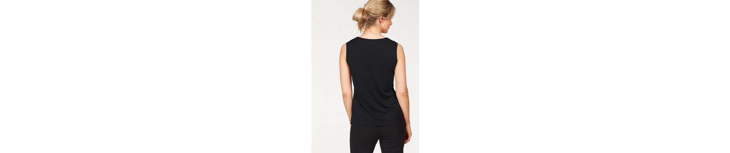 select! By Hermann Lange Tanktop, mit kontrastfarbener Blende