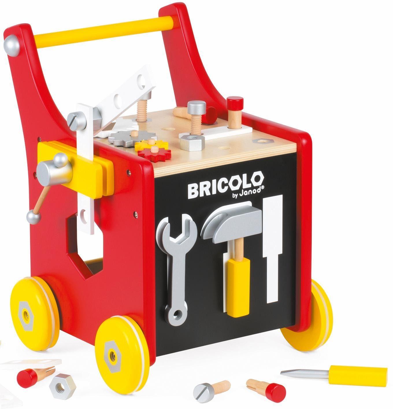 Janod Werkbankwagen für Kinder, »Redmaster Werkbankwagen groß«