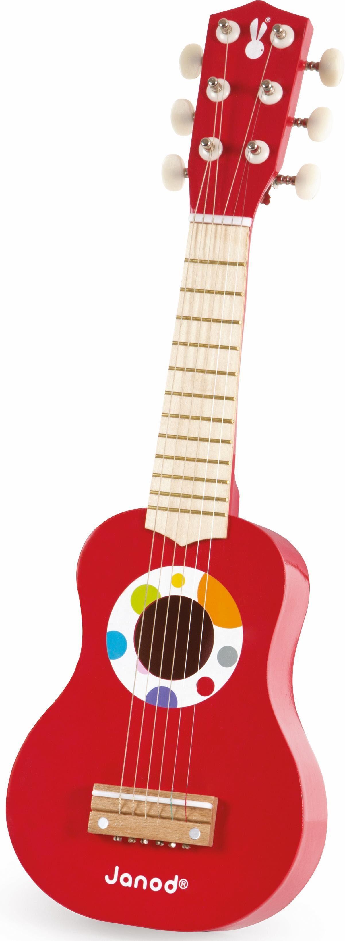 Janod Kindergitarre, »Konfetti, meine erste Gitarre«