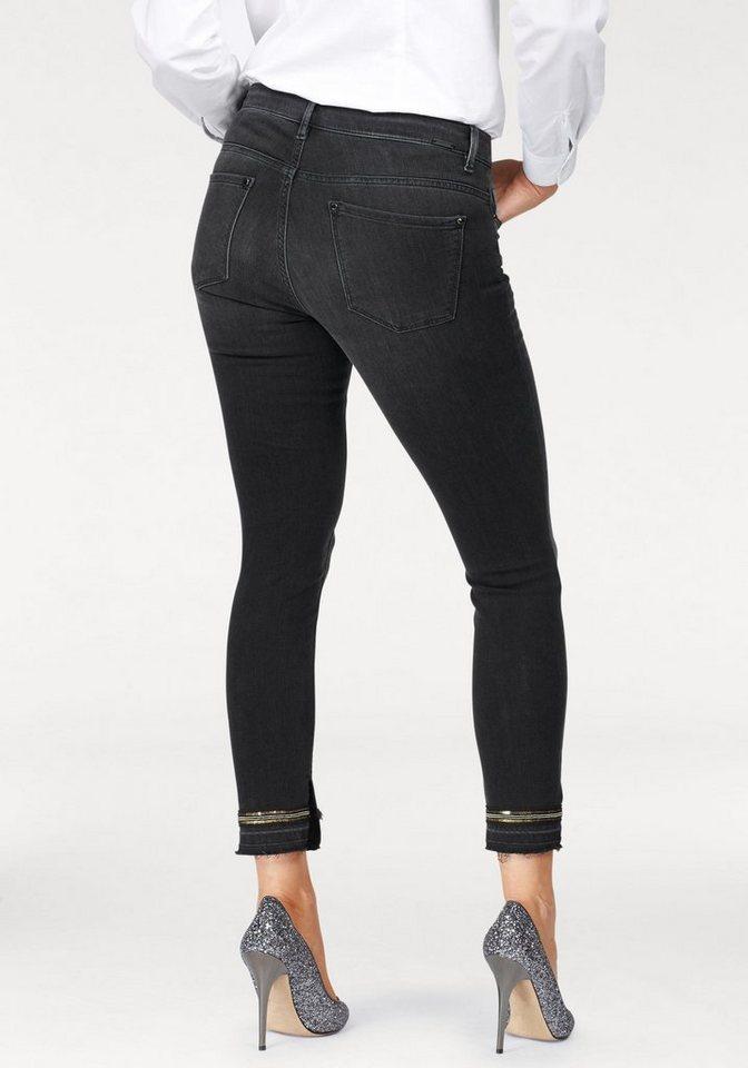 rosner 7 8 jeans im schmalen 5 pocket style mit paillettenzierband online kaufen otto. Black Bedroom Furniture Sets. Home Design Ideas