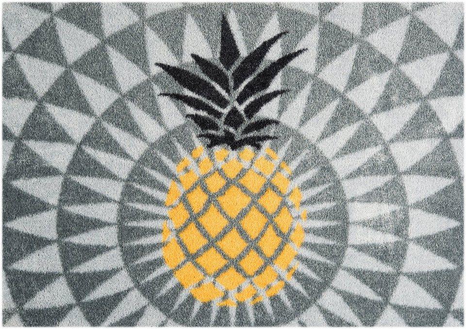 teppich ananas mint rugs rechteckig h he 7 mm waschbar online kaufen otto. Black Bedroom Furniture Sets. Home Design Ideas