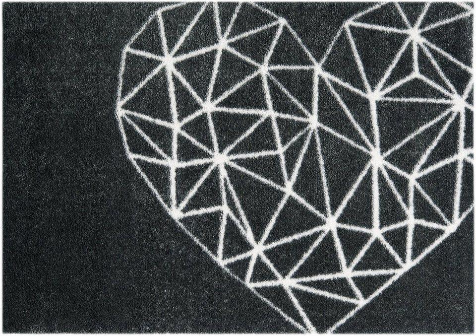 Teppich »Geometric Heart«, Mint Rugs, rechteckig, Höhe 7