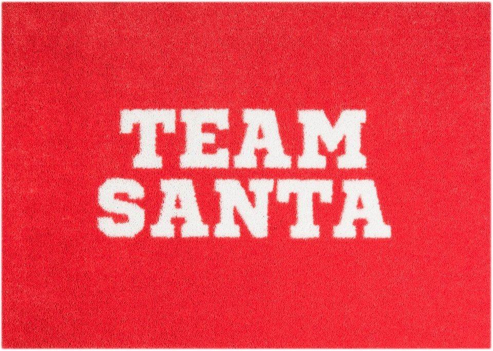teppich team santa mint rugs rechteckig h he 7 mm waschbar online kaufen otto. Black Bedroom Furniture Sets. Home Design Ideas