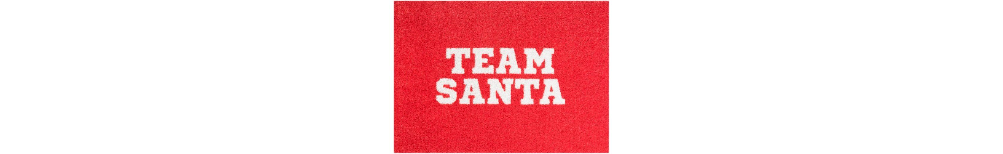 Teppich »Team Santa«, Mint Rugs, rechteckig, Höhe 7 mm