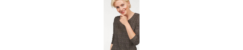 STOOKER WOMEN Rundhalsshirt, mit kleinem allover Leodruck