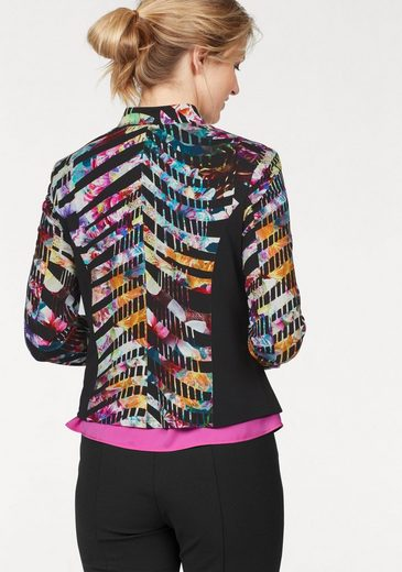 select! By Hermann Lange Sweatblazer, bedruckter Jerseyblazer