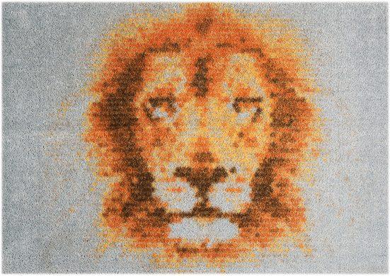 Fußmatte »Lion«, MINT RUGS, rechteckig, Höhe 7 mm, In- und Outdoor geeignet, waschbar