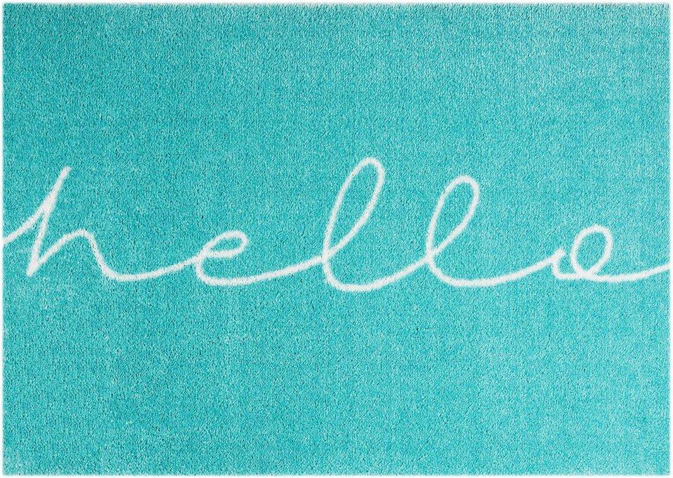 Teppich »Hello«, Mint Rugs, rechteckig, Höhe 7 mm