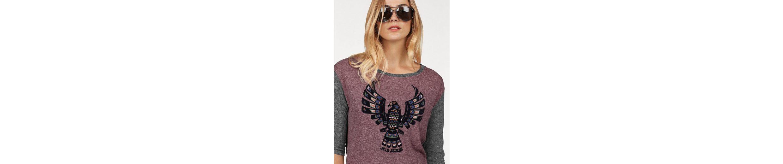 T-Shirt, mit coolem Frontprint