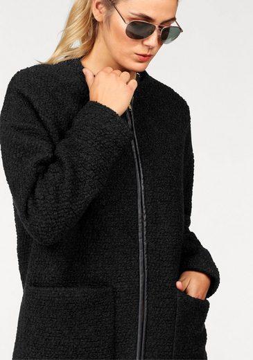 Danwear Kurzmantel, aus Bouclé mit Wolle