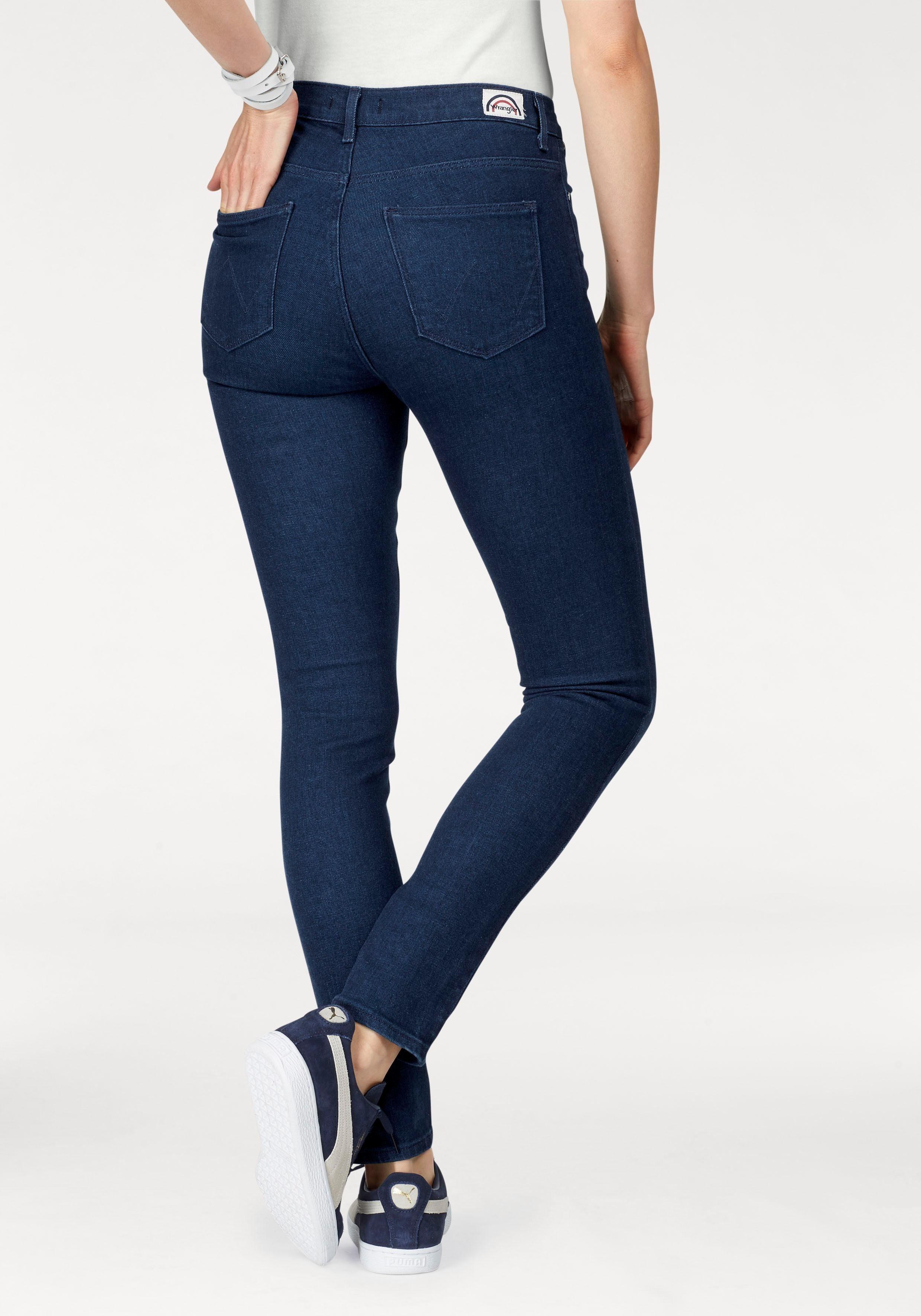 Wrangler Stretch-Jeans Highrise Skinny
