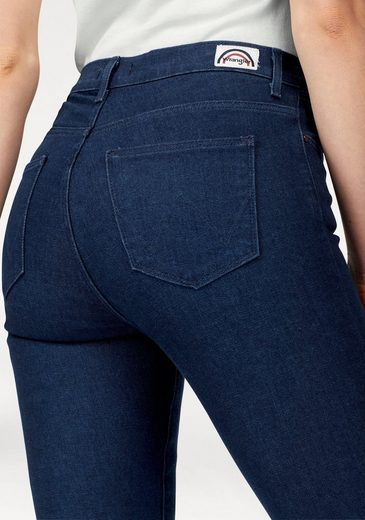 Wrangler Stretch-Jeans, Highrise Skinny