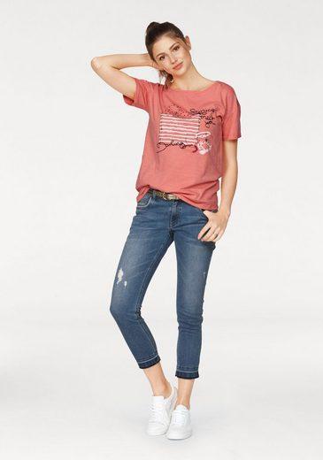 s.Oliver RED LABEL T-Shirt, mit jeweils unterschiedlichem Frontdruck