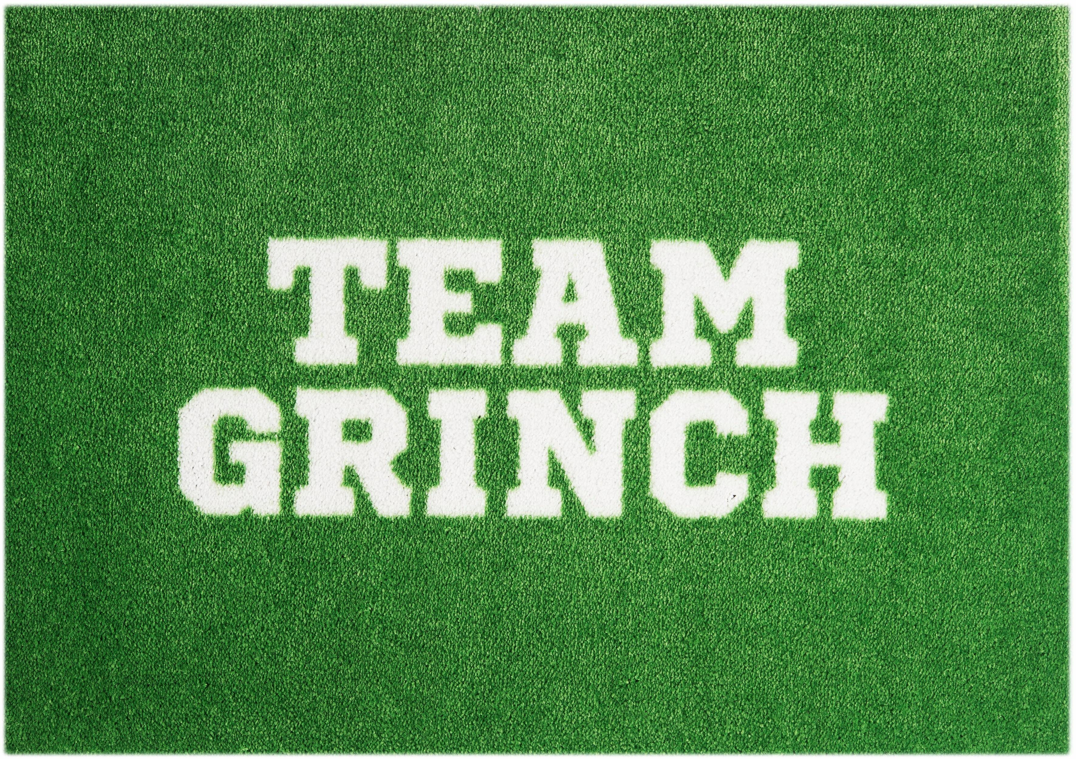 Fußmatte »Team Grinch«, MINT RUGS, rechteckig, Höhe 7 mm, waschbar