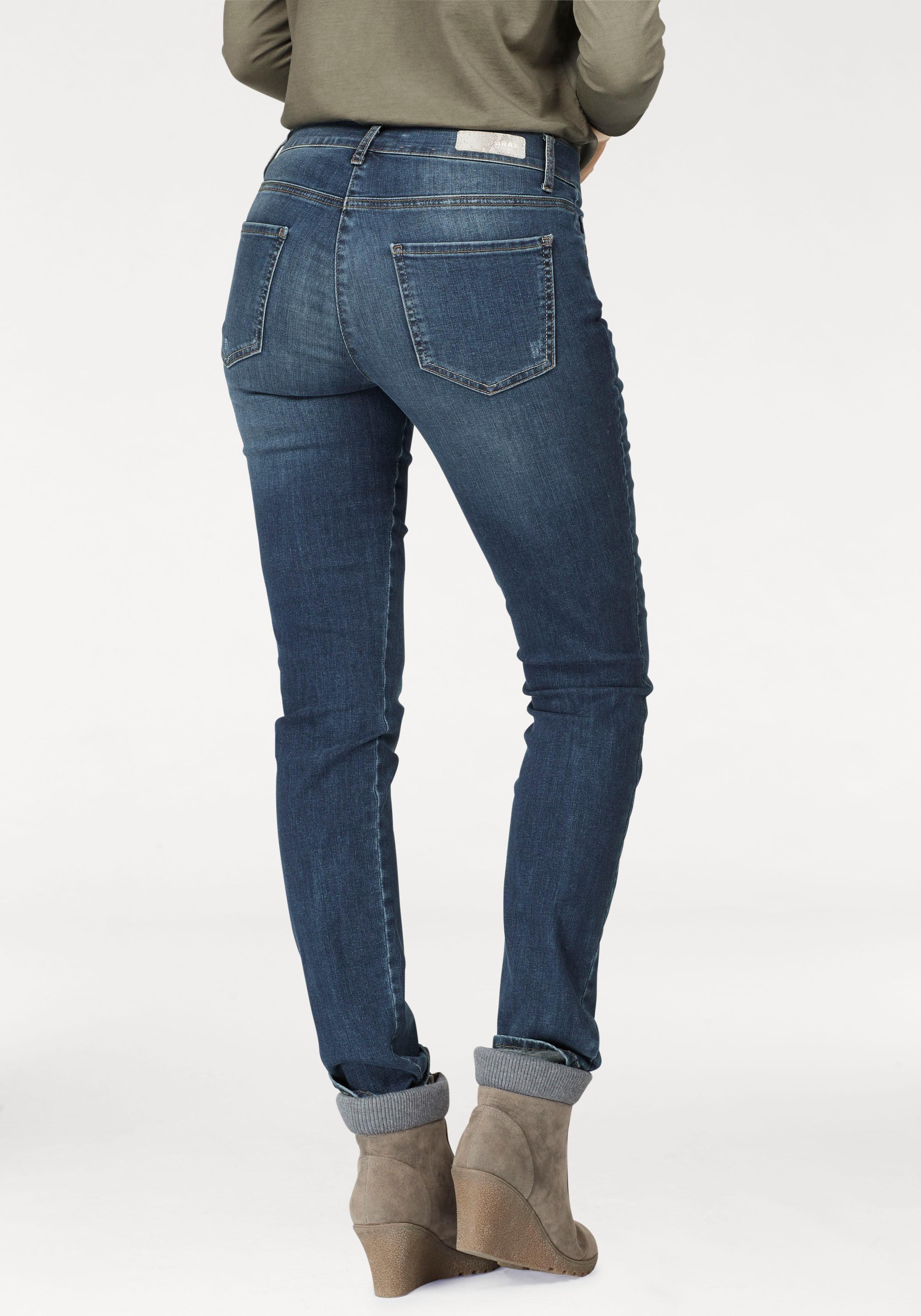 Brax Slim Fit Jeans Shakira Diamond Mit Dekorativen
