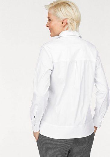 bianca Klassische Bluse, Doena mit verdeckter Knopfleiste