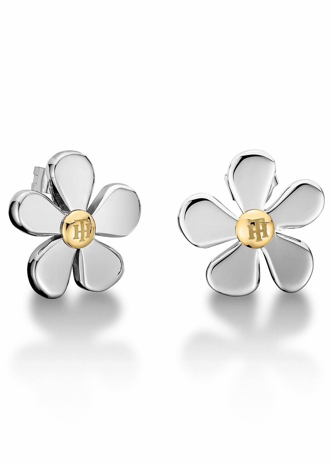 Tommy Hilfiger Paar Ohrstecker »Blume, Classic Signature, 2700937«