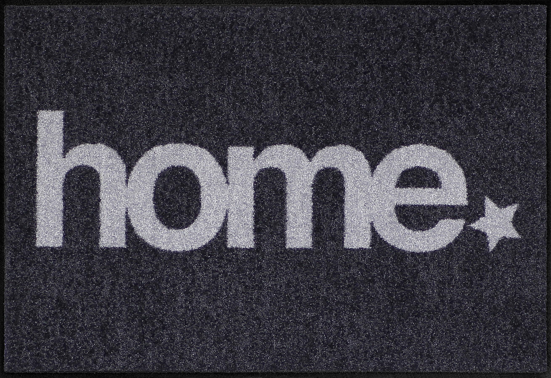 Fußmatte »Home Star«, Salonloewe, rechteckig, Höhe 6 mm, anthrazit