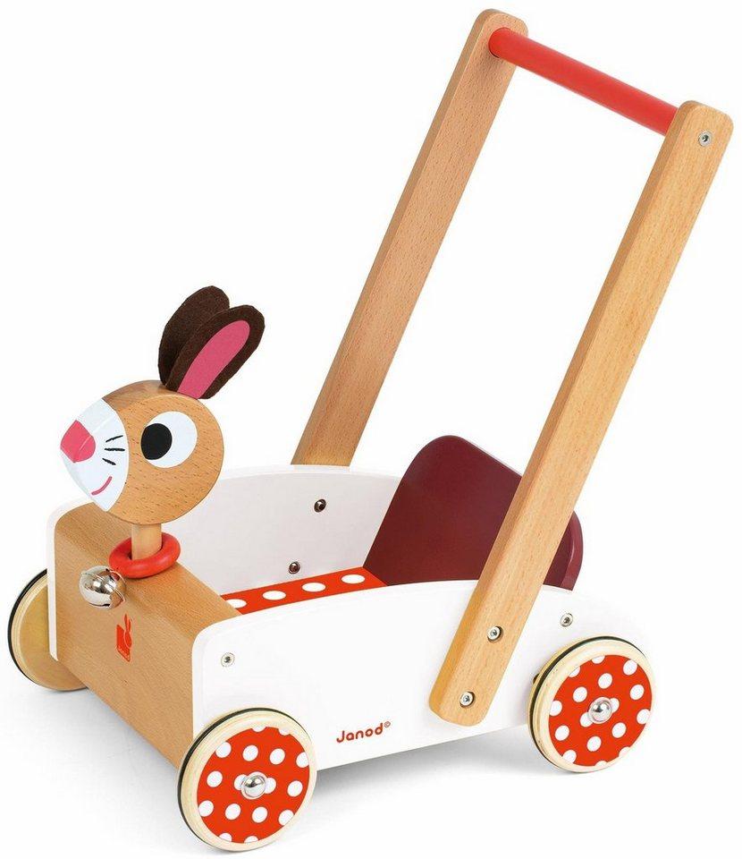 Janod Lauflernwagen,  Hase  online kaufen