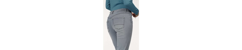 bianca Slim-fit-Jeans, Denver, mit Schmucksteinen am Tascheneingriff