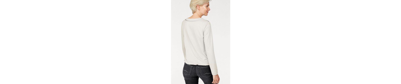 Rabe Blusenshirt, Blusenshirt aus Materialmix und mit Pailletten