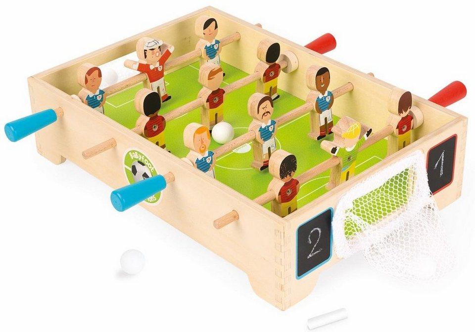 janod tisch kicker aus holz champions kaufen otto. Black Bedroom Furniture Sets. Home Design Ideas