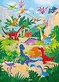 Fototapete »Dino World«, 4-teilig, 183x254 cm, Bild 1