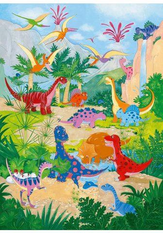 Фотообои »Dino World« 4 шт...