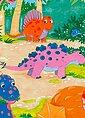 Fototapete »Dino World«, 4-teilig, 183x254 cm, Bild 3