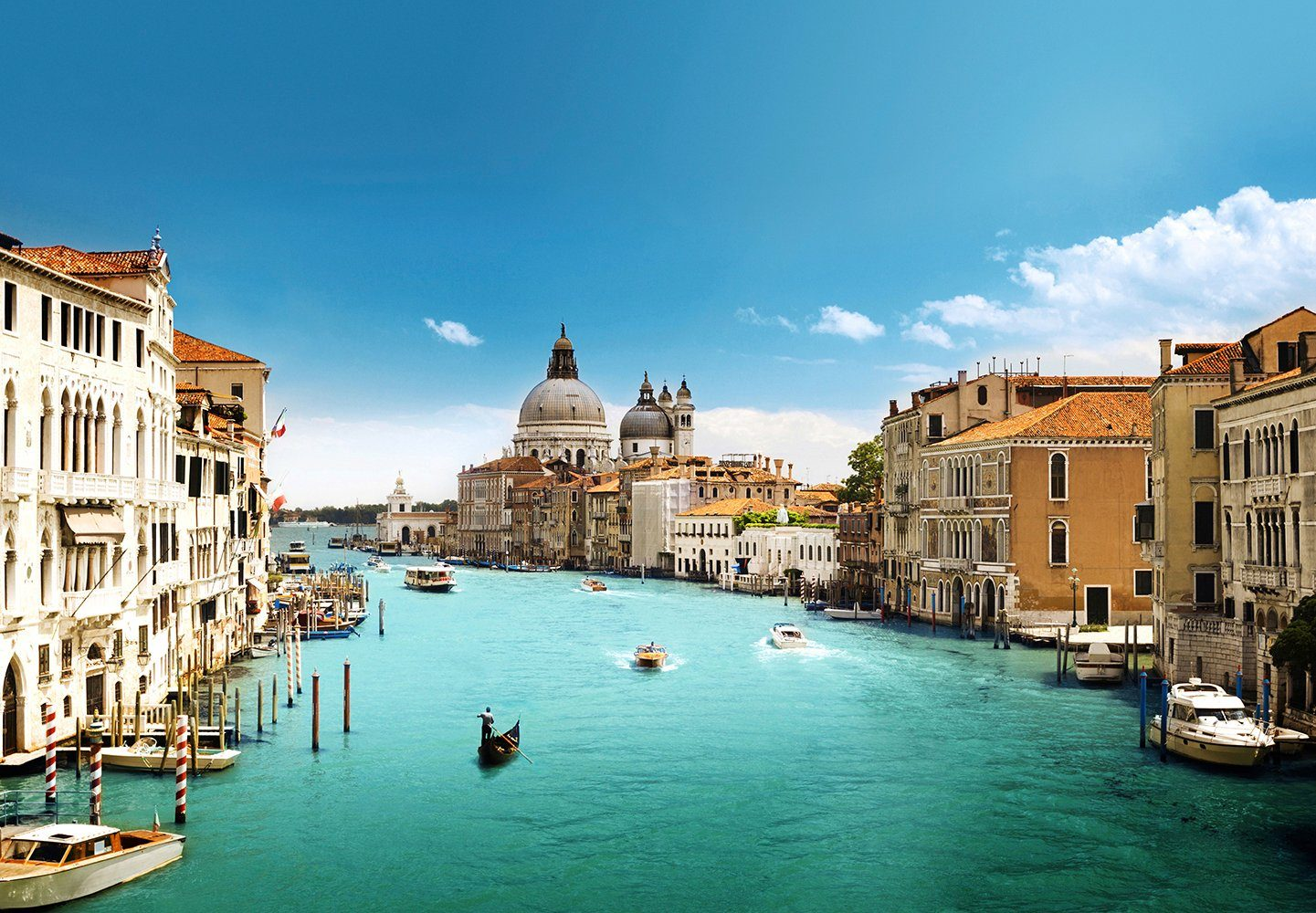 Fototapete »Canal Grande Venice«, 8-teilig, 366x254 cm