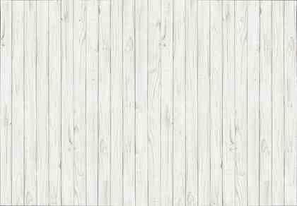 Fototapete »White Wooden Wall«, 8-teilig, 366x254 cm