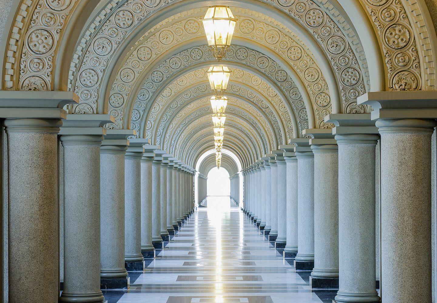 Fototapete »Archway«, 8-teilig, 366x254 cm