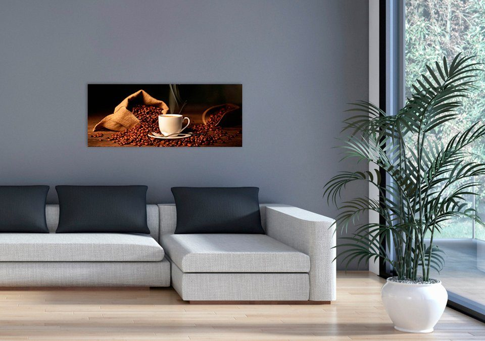 MARMONY Infrarotwandheizgerät »Coffeetime MTC-40«, Naturstein, 800 W, beige