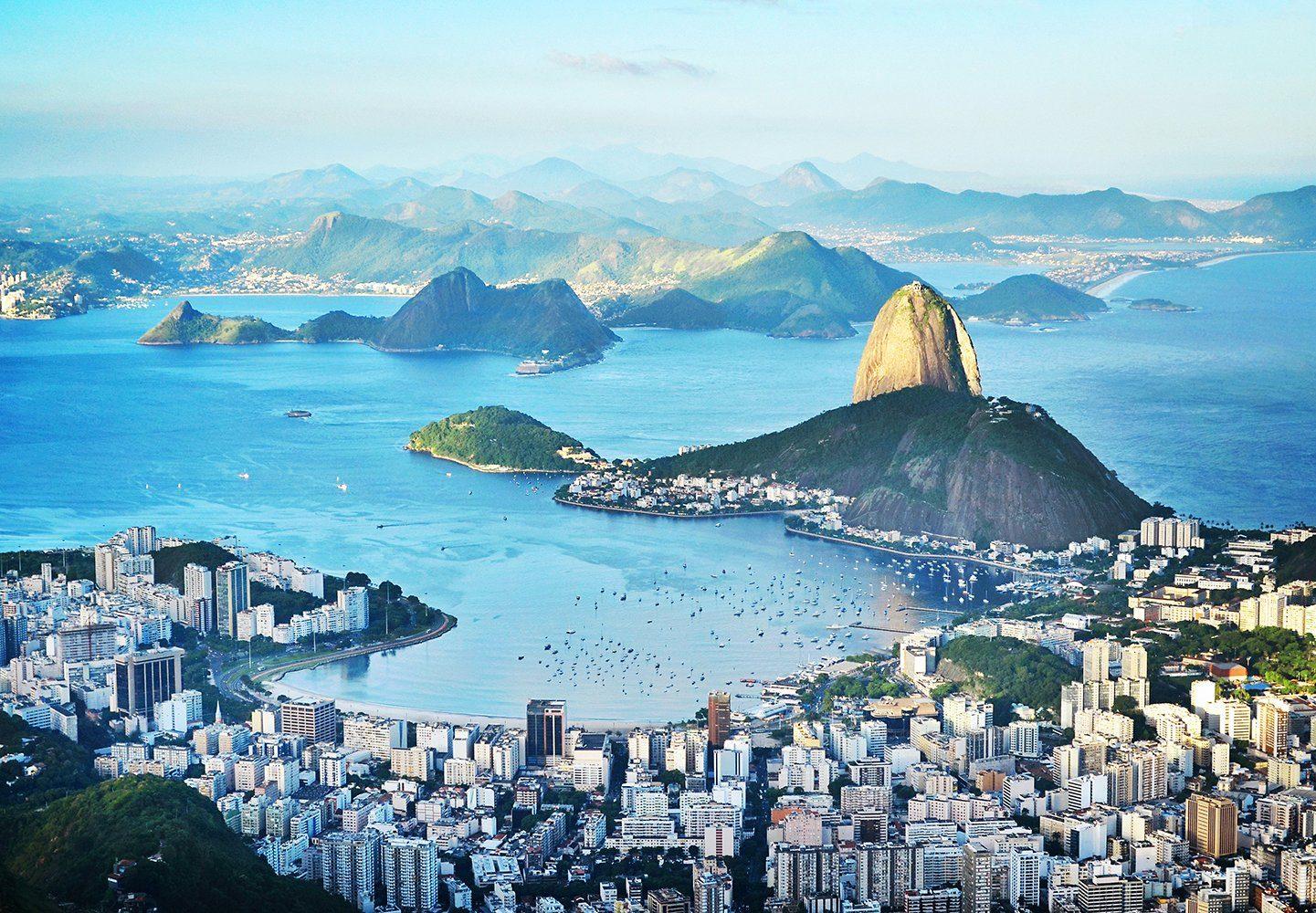 Fototapete »Rio«, 8-teilig, 366x254 cm