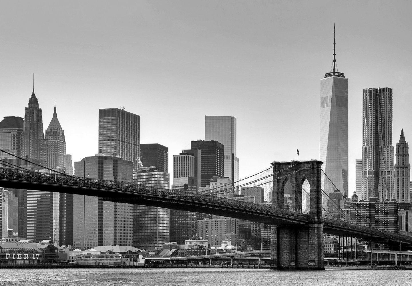 Fototapete »New York«, 8-teilig, 366x254 cm